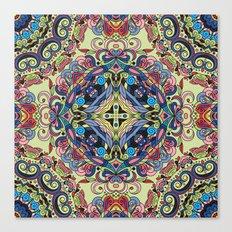 Boho Geometric Pattern 20 Canvas Print