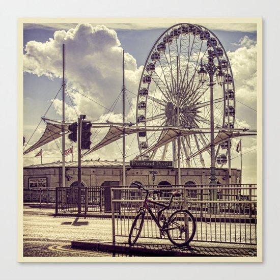 The Brighton Wheel Canvas Print
