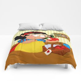 Snow White (apple) Comforters