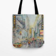 Broadway,  New York - Five O'Clock Revised Tote Bag
