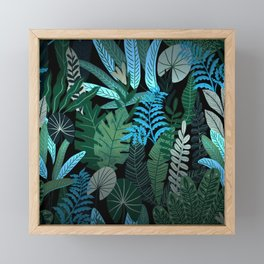 Eve's Paradise Tropical Garden Framed Mini Art Print