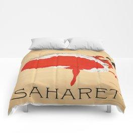 Vintage poster - Saharet Comforters