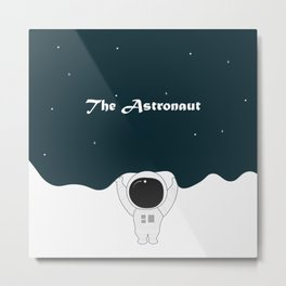 the astronout Metal Print