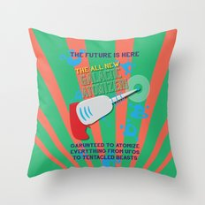 The Galactic Atomizer Throw Pillow