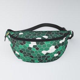 Jade Green Polycamo Fanny Pack
