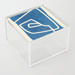 abstract minimal 57 Acrylic Box