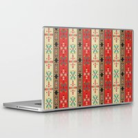 blanket Laptop & iPad Skins featuring Sioux Blanket by Robin Curtiss