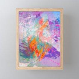 AQUA WORLD DREAM Framed Mini Art Print