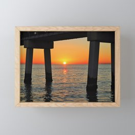 Another Sunset Framed Mini Art Print
