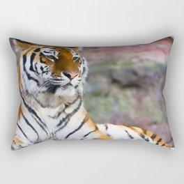 Regal Tiger Rectangular Pillow