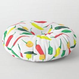 Chili Pepper Pattern Floor Pillow