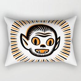 Werewolf Head Rectangular Pillow