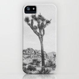 JOSHUA TREE XVII / California iPhone Case