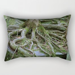 Tree Roots Find A Way Rectangular Pillow