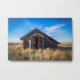 Chicken House, Backroads Farmstead, Valley County, MT Metal Print