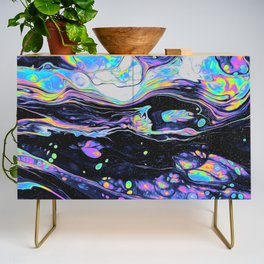 GLASS IN THE PARK Credenza