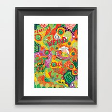 Rainbow Wars Framed Art Print
