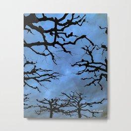 Mainz Trees Metal Print