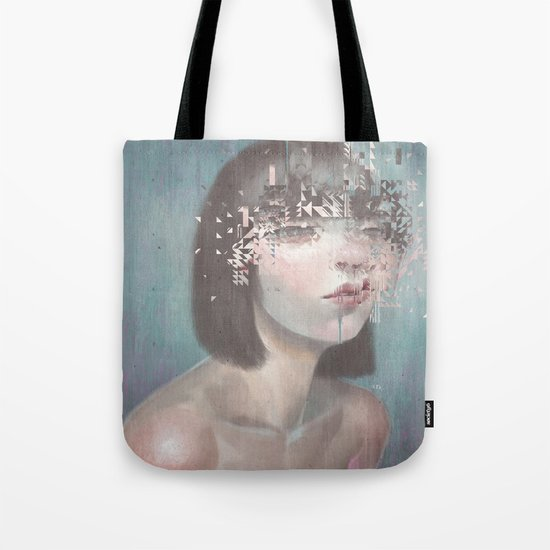 Glitch 02 Tote Bag
