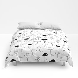 Magic Mushrooms Comforters