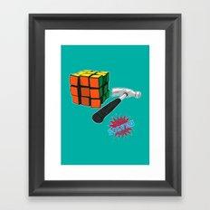 solved ! Framed Art Print