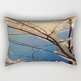 Sylvan Ice Tree Rectangular Pillow