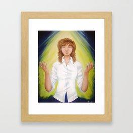 The Sinner's Prayer Framed Art Print