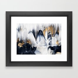 Abstract Flow 02 Framed Art Print