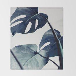 botanical vibes II Throw Blanket