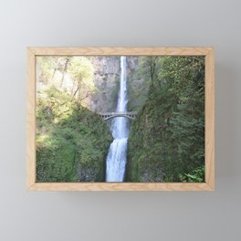 Follow Me Falls Framed Mini Art Print