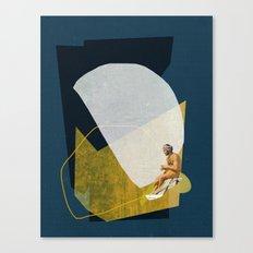 Man On The Sea Canvas Print
