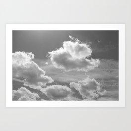Berlin sky Art Print