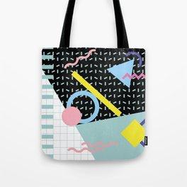 Memphis Pattern 6 - 80s - 90s - Retro Tote Bag
