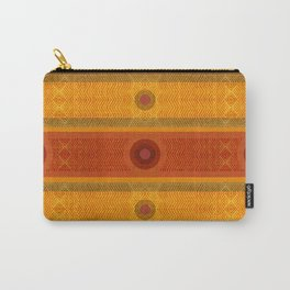 """Ethnic Pattern Warm Tones II"" Carry-All Pouch"