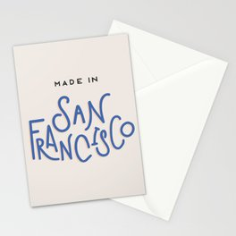 Made in San Francisco Stationery Cards
