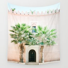 "Travel photography print ""Magical Marrakech"" photo art made in Morocco. Pastel colored. Wall Tapestry"