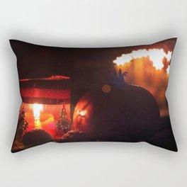 cozy advent Rectangular Pillow