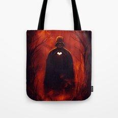 Heart Vader Tote Bag