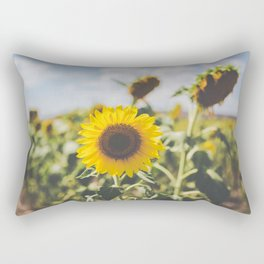 Allora | Sunflowers Rectangular Pillow