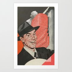 Spam Man Art Print