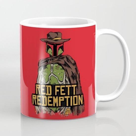 Red Fett Redemption Mug