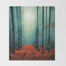 Landscape (colour option) Throw Blanket
