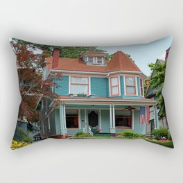 Old West End Blue 12 Rectangular Pillow