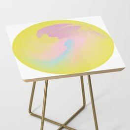 Sunny gold Side Table