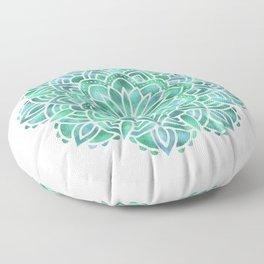 Mandala Southwest Succulent Floor Pillow
