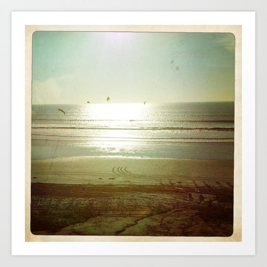 La Jolla Sunset Art Print