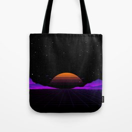 Vaporwave Outrun | Eighties Style Tote Bag