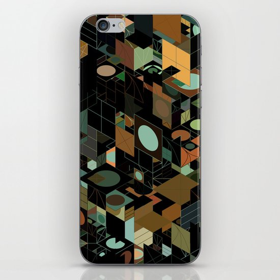 Panelscape: colours from KARMA CHAMELEON 3 iPhone & iPod Skin