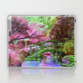 Beautiful garden Laptop & iPad Skin