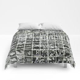 A Symbol of Belonging (P/D3 Glitch Collage Studies) Comforters